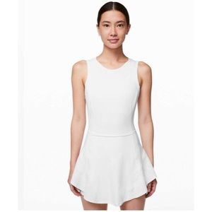 lululemon Serene Stride Dress White Size 10